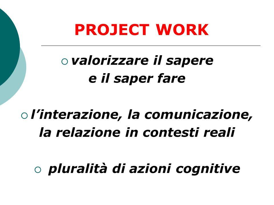 l'interazione, la comunicazione,
