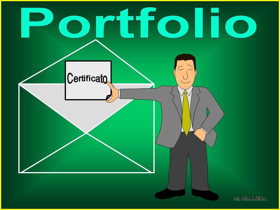 Portfolio Certificato M. MALIZIA