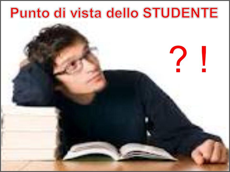 Punto di vista dello STUDENTE
