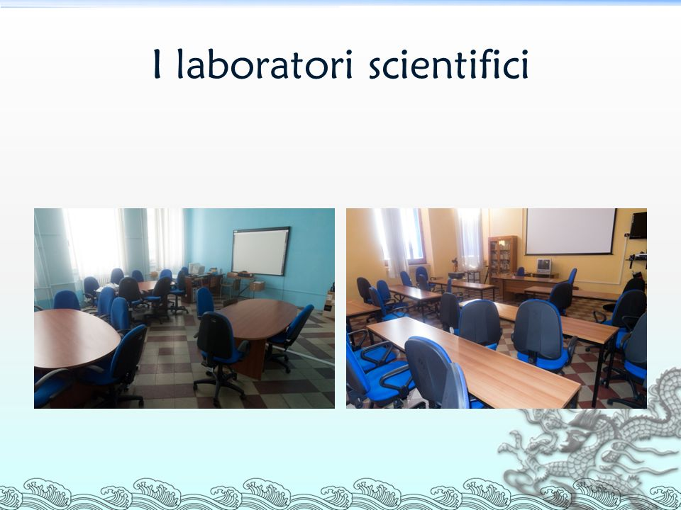 I laboratori scientifici