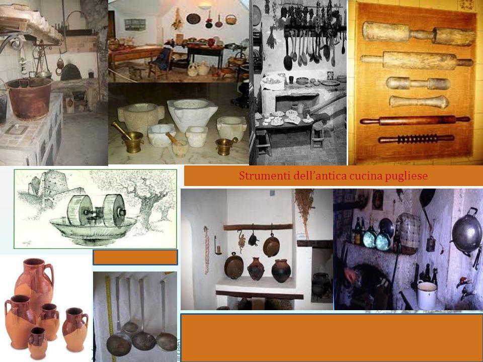 Strumenti dell'antica cucina pugliese