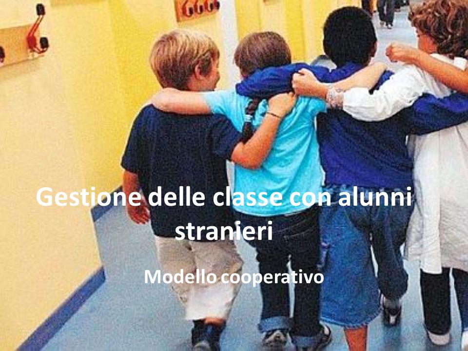 Gestione delle classe con alunni stranieri