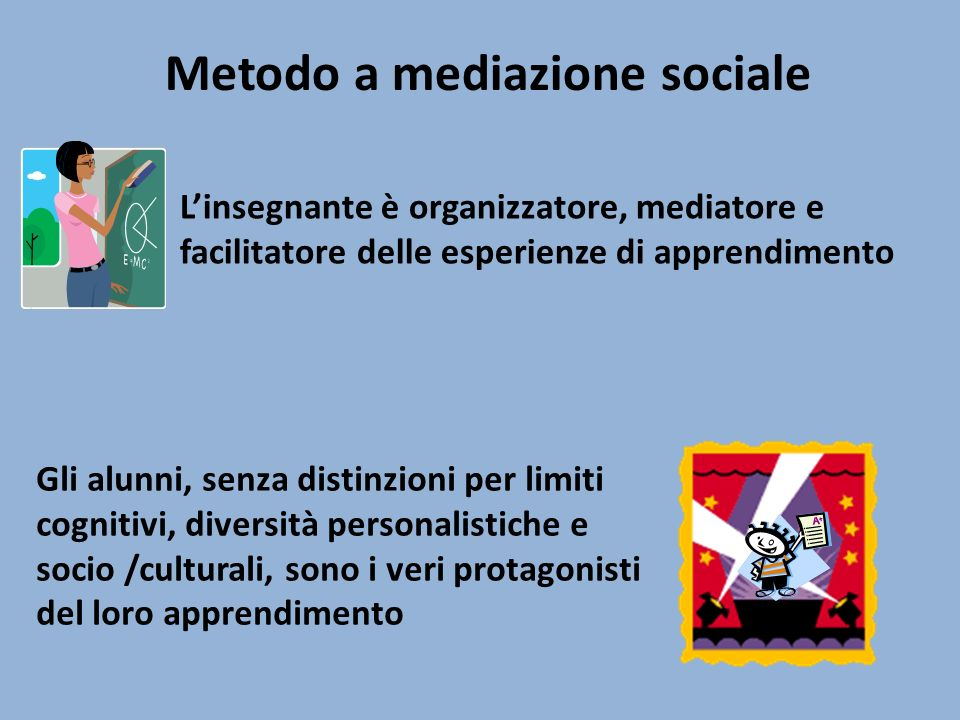 Metodo a mediazione sociale