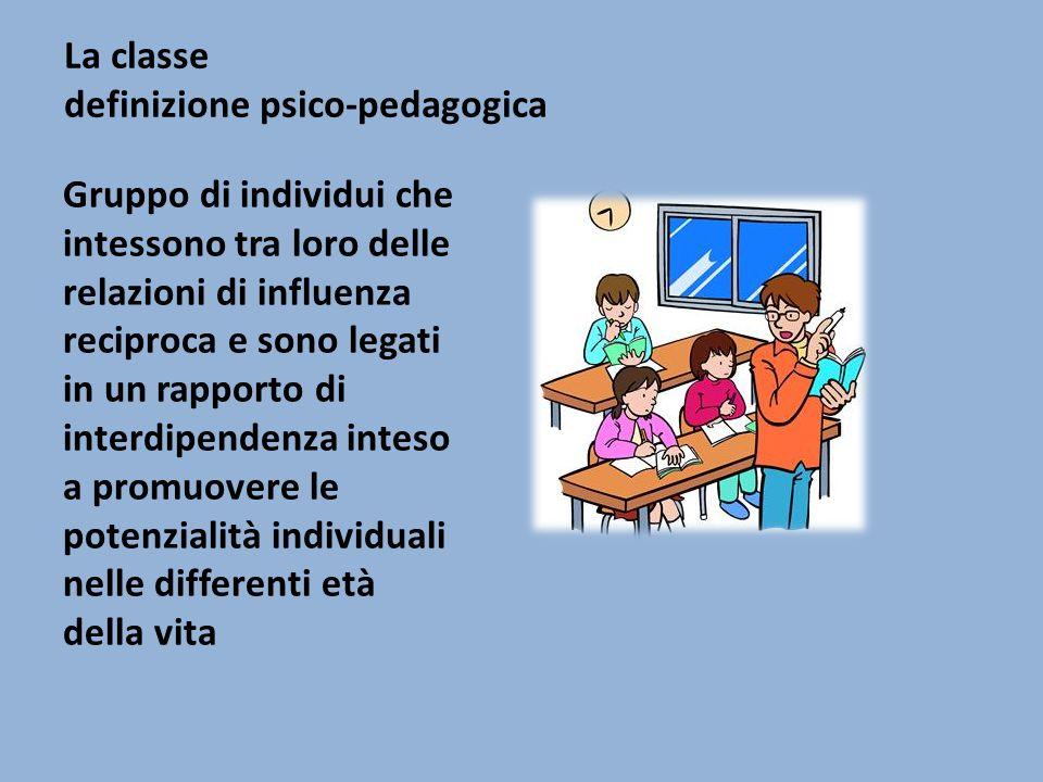 La classe definizione psico-pedagogica