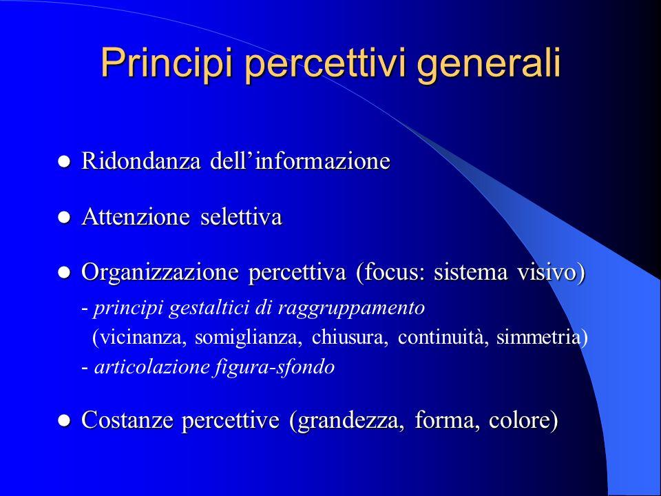Principi percettivi generali