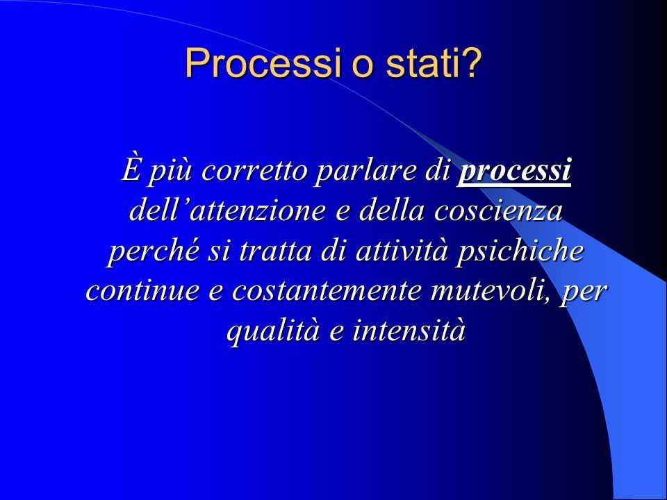Processi o stati