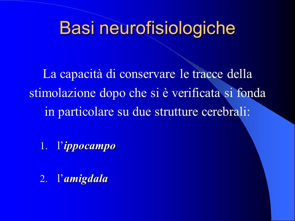 Basi neurofisiologiche