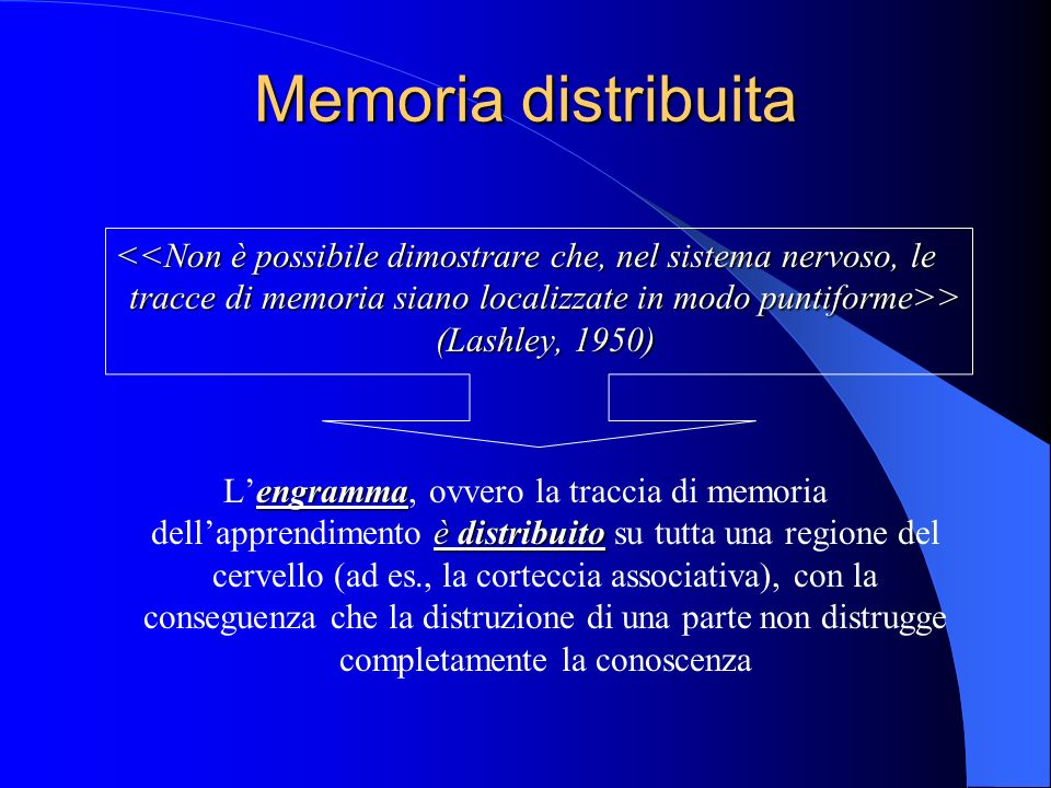 Memoria distribuita