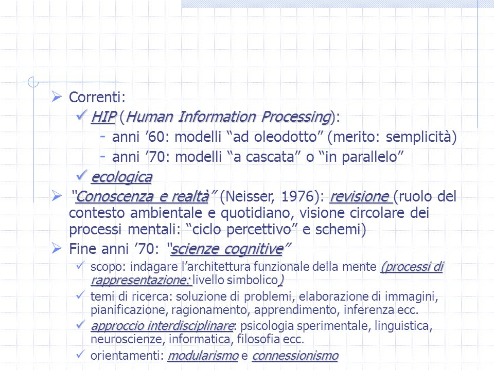 HIP (Human Information Processing):