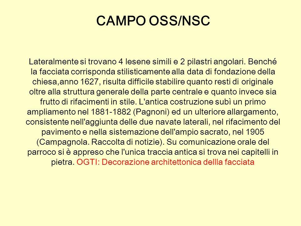 CAMPO OSS/NSC