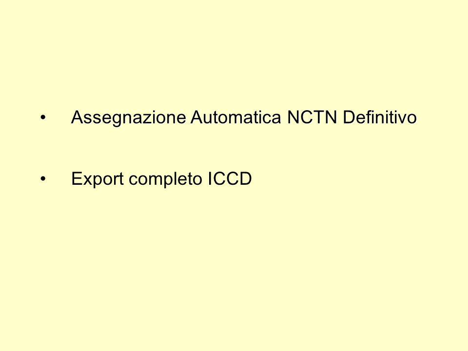 Assegnazione Automatica NCTN Definitivo