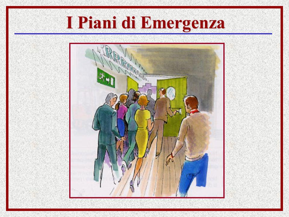 I Piani di Emergenza