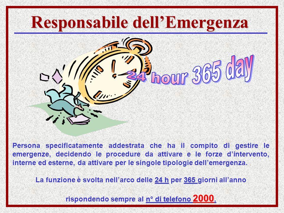 Responsabile dell'Emergenza