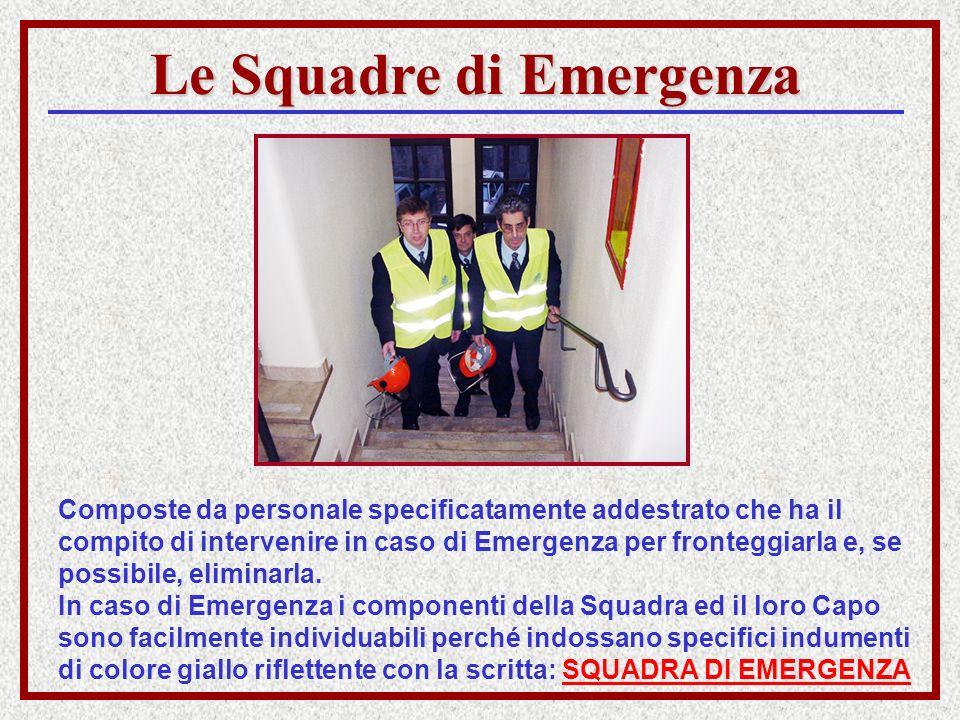 Le Squadre di Emergenza