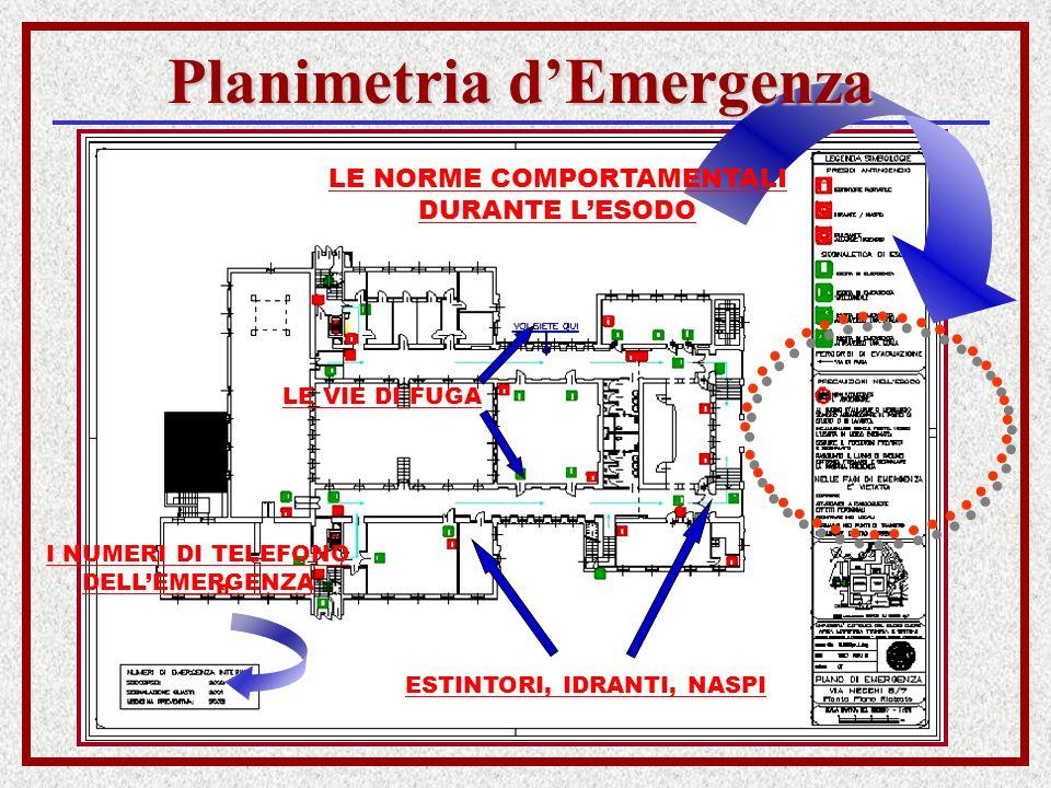 Planimetria d'Emergenza