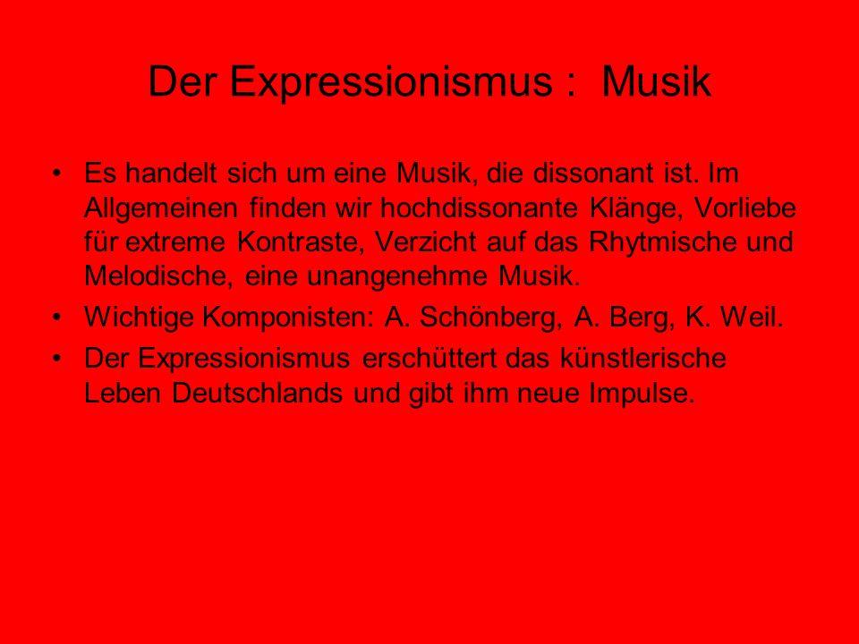 Der Expressionismus : Musik
