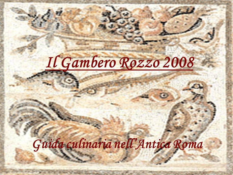 Guida culinaria nell'Antica Roma