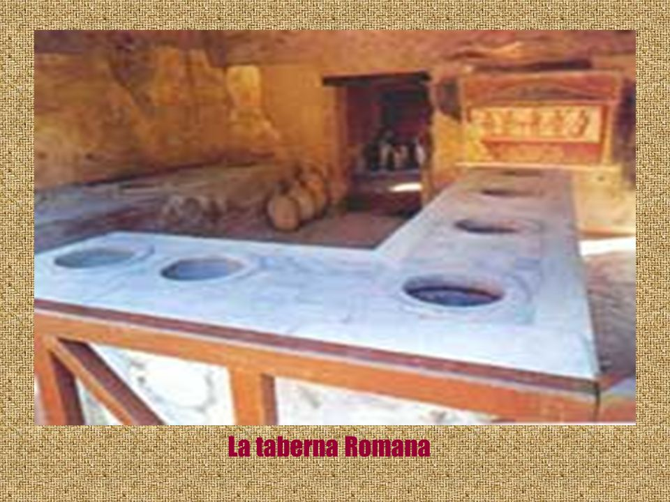 La taberna Romana