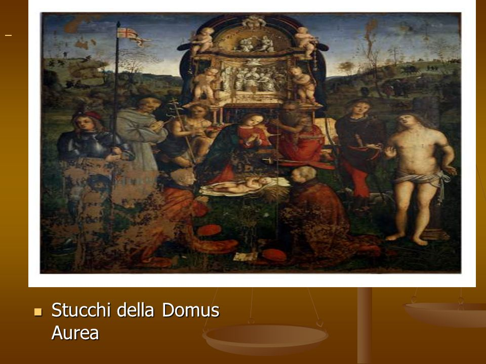 Stucchi della Domus Aurea