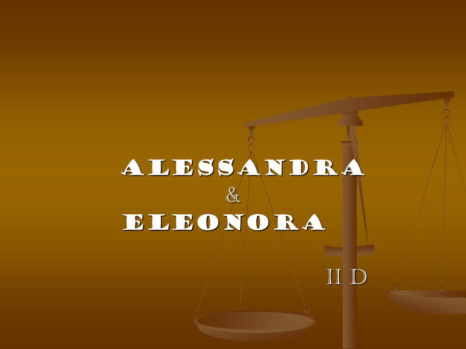 Alessandra & Eleonora II D