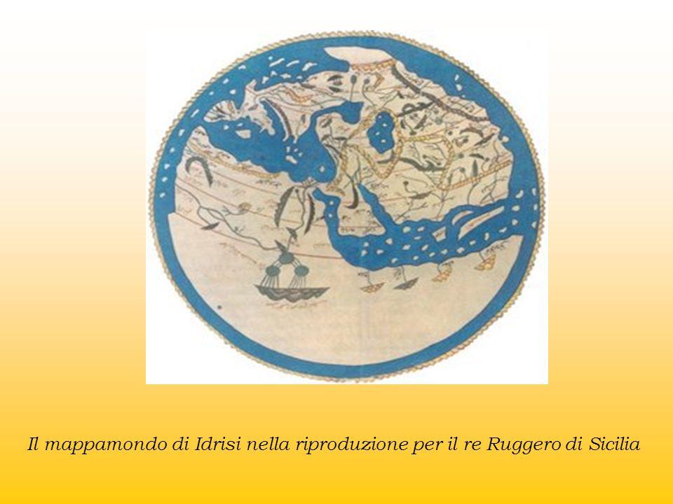 Il mappamondo di Idrisi nella riproduzione per il re Ruggero di Sicilia