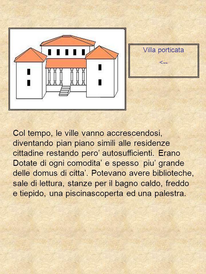 Villa porticata <--