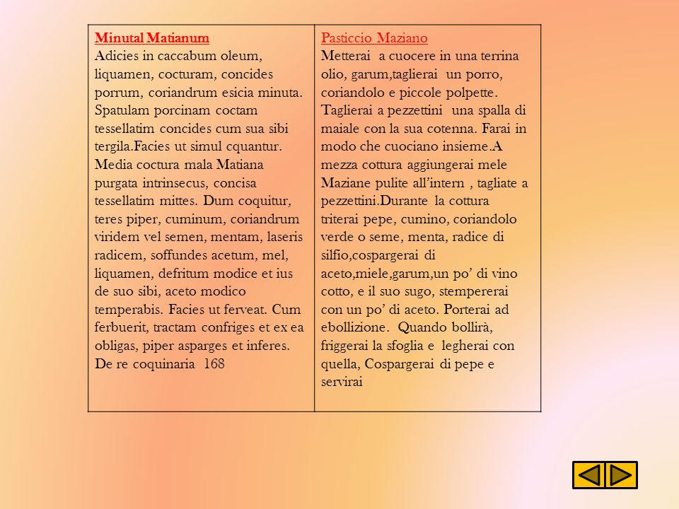 Minutal Matianum