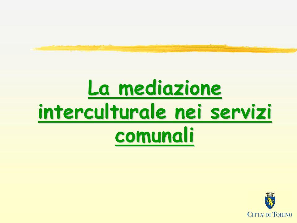 La mediazione interculturale nei servizi comunali