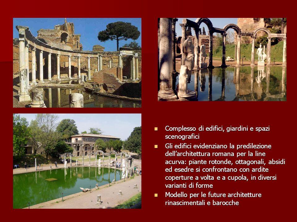 Complesso di edifici, giardini e spazi scenografici
