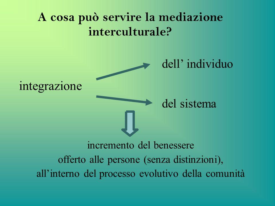 A cosa può servire la mediazione interculturale