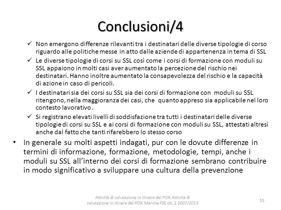 Conclusioni/4
