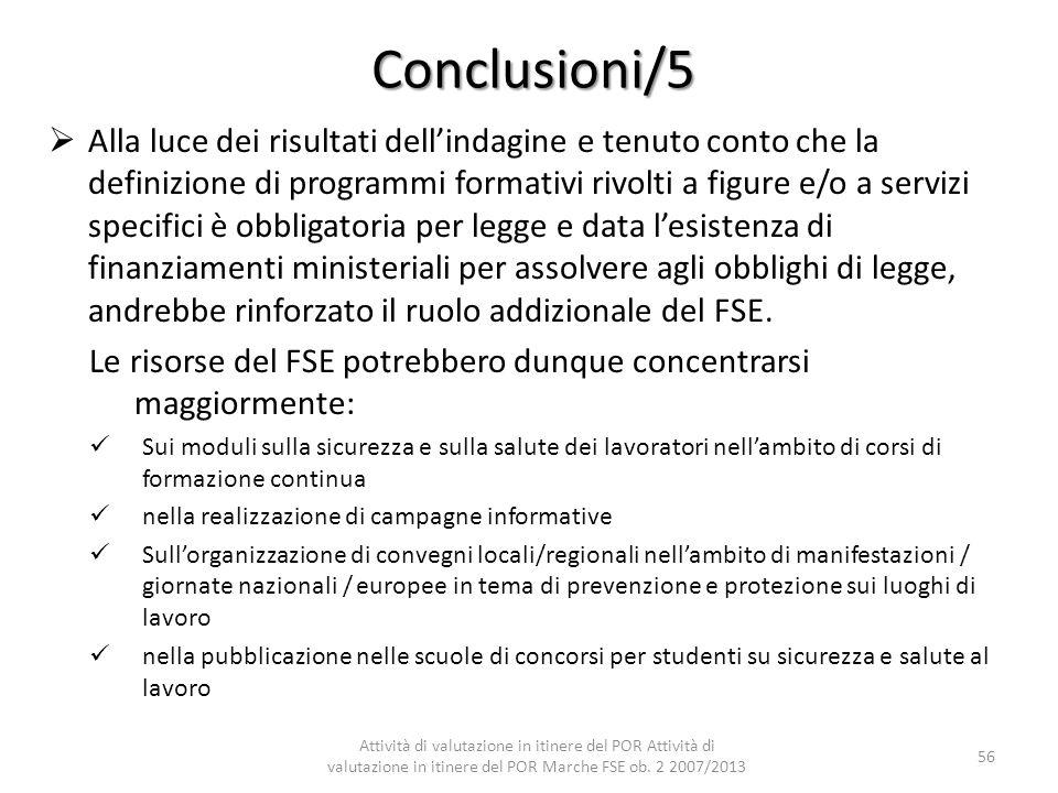 Conclusioni/5