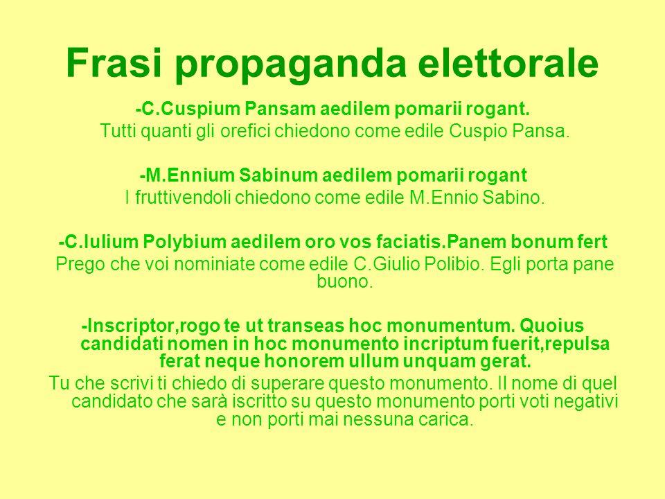 Frasi propaganda elettorale
