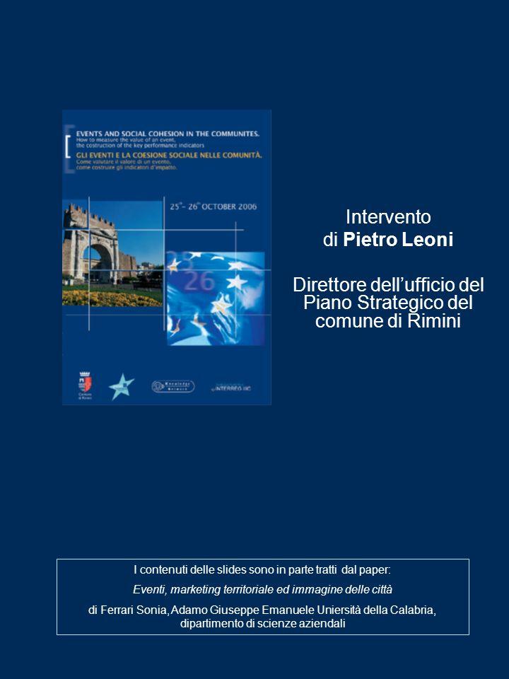 Direttore dell'ufficio del Piano Strategico del comune di Rimini
