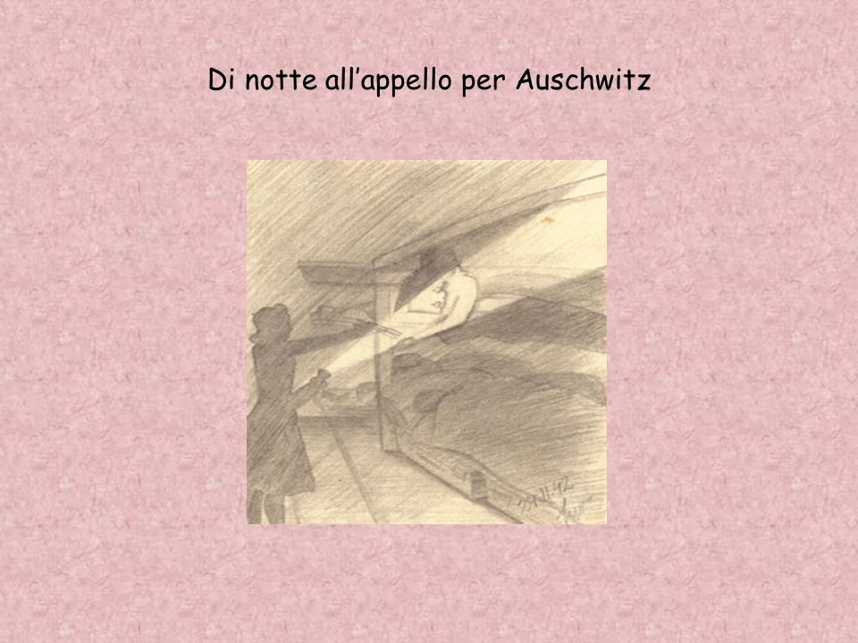Di notte all'appello per Auschwitz