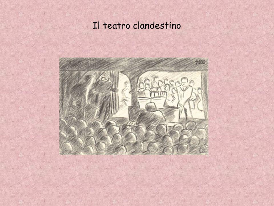 Il teatro clandestino