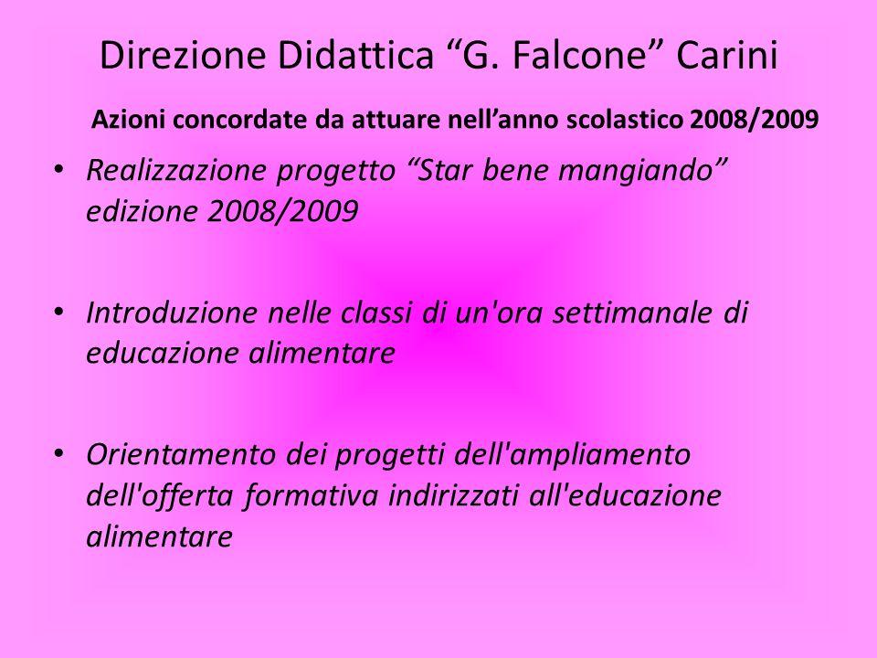 Direzione Didattica G. Falcone Carini