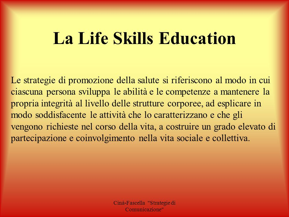 La Life Skills Education