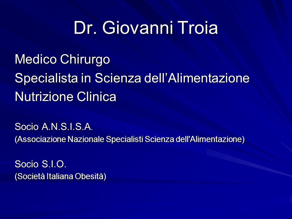 Dr. Giovanni Troia Medico Chirurgo