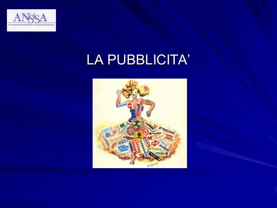 LA PUBBLICITA'