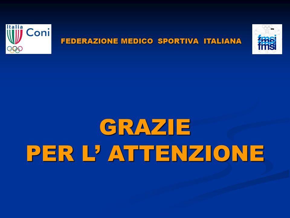FEDERAZIONE MEDICO SPORTIVA ITALIANA