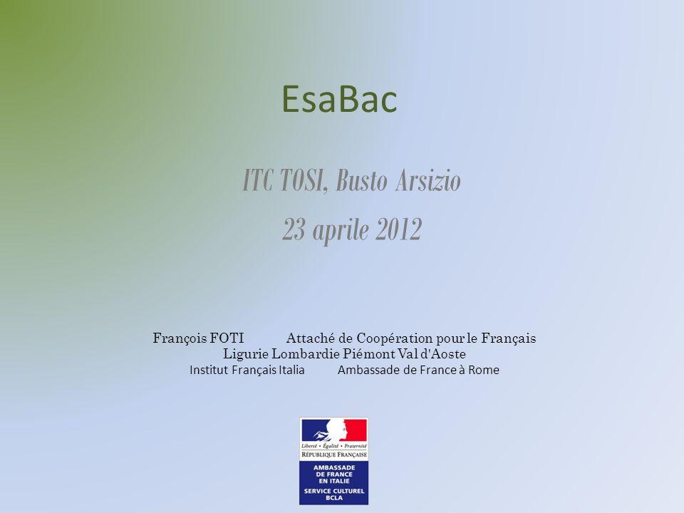 ITC TOSI, Busto Arsizio 23 aprile 2012
