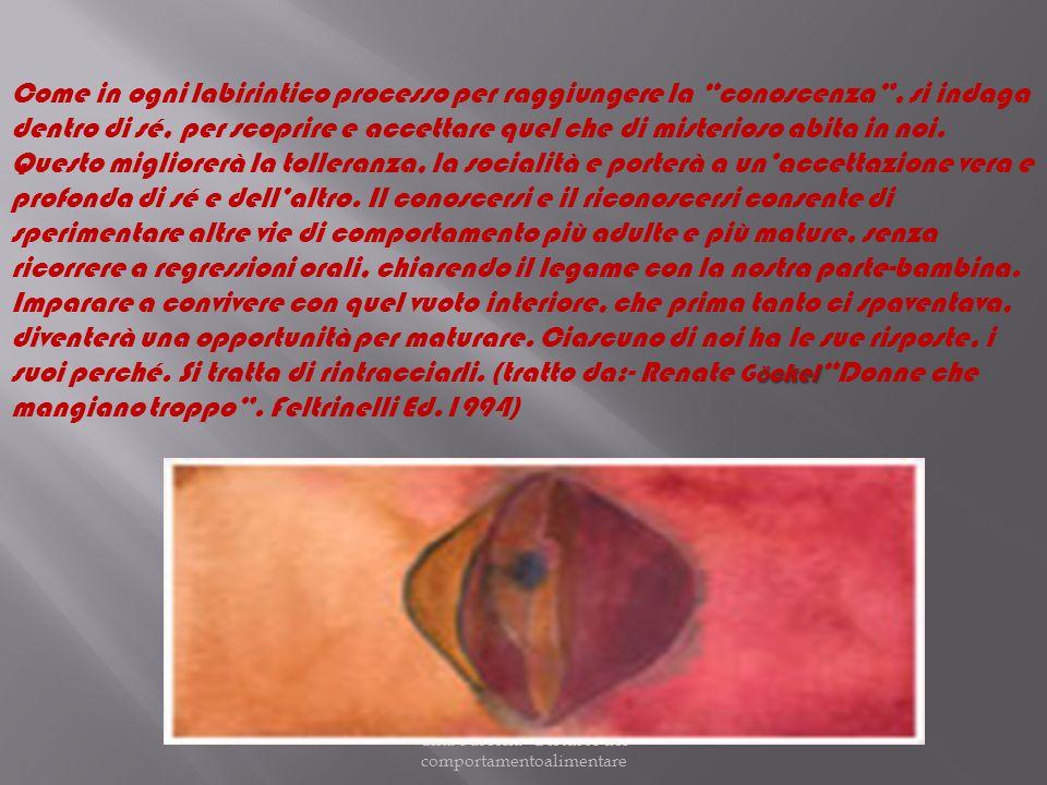 Cinà-Fascella Disturbi del comportamentoalimentare