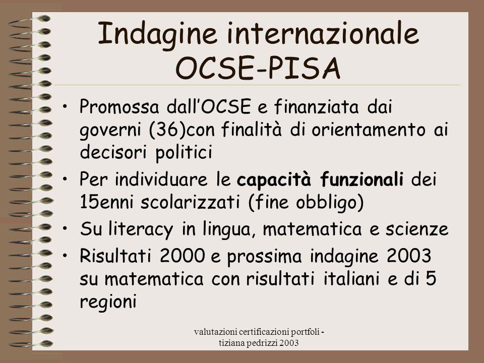 Indagine internazionale OCSE-PISA