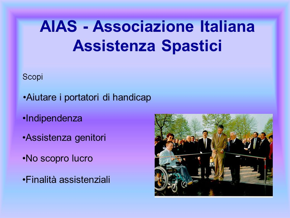 AIAS - Associazione Italiana Assistenza Spastici