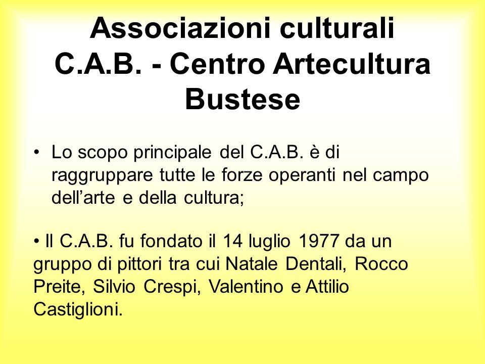 Associazioni culturali C.A.B. - Centro Artecultura Bustese