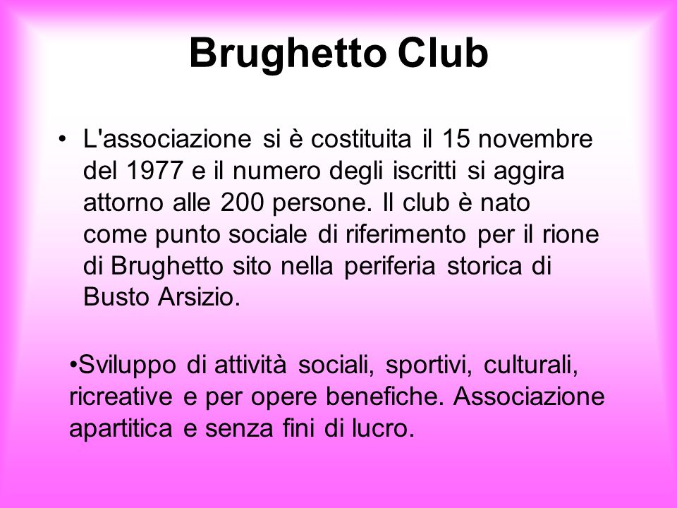 Brughetto Club