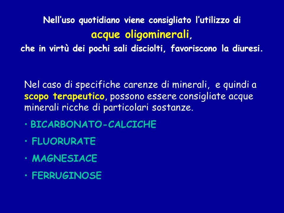 BICARBONATO-CALCICHE FLUORURATE MAGNESIACE FERRUGINOSE