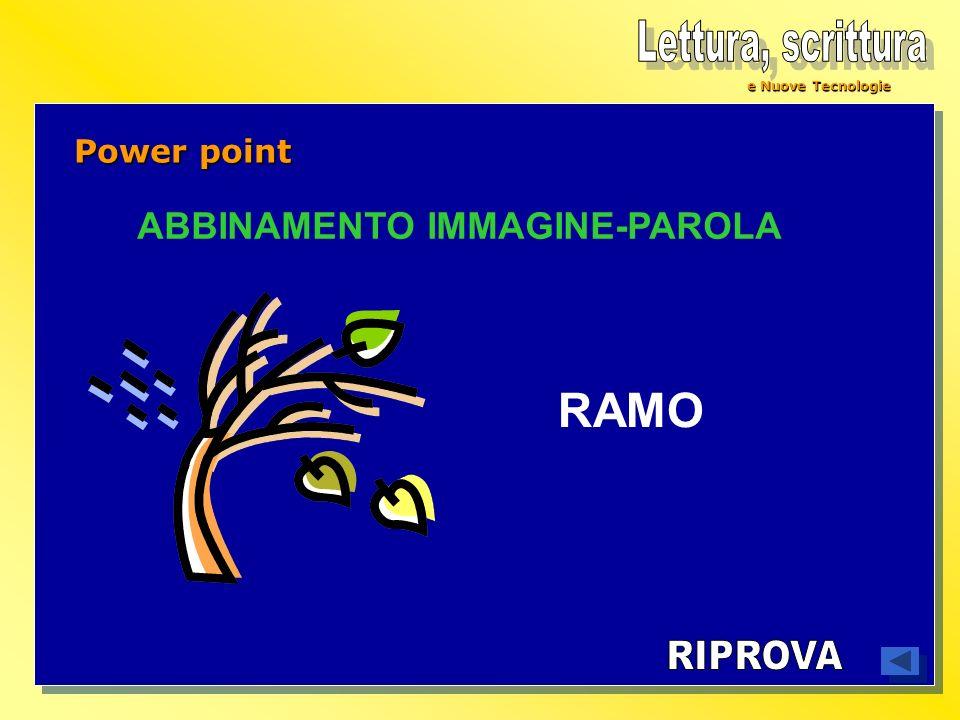 ABBINAMENTO IMMAGINE-PAROLA