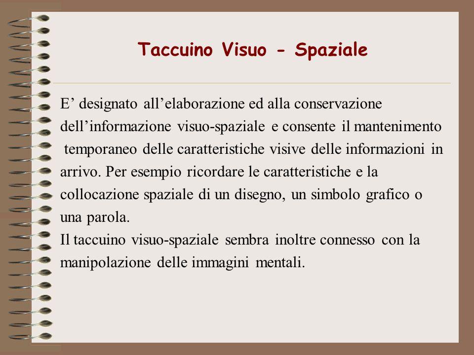 Taccuino Visuo - Spaziale